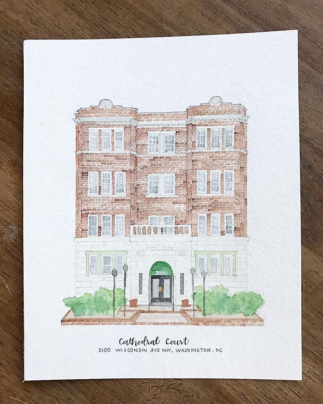 #DC #nashvilleartist #architecturalportrait #watercolor #sketch #etsy #etsyshop #etsyseller #art #artistsoninstagram #create #creative @ekirouac @erinkirouacdesignco