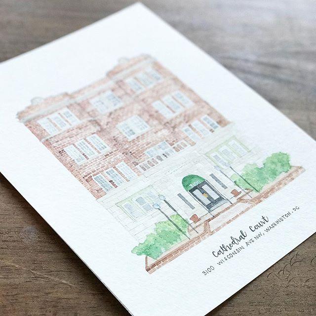 #DC #nashvilleartist #customart #homeportrait #sketch #watercolor #etsy #etsyshop #etsyseller #architecturalportrait @ekirouac @erinkirouacdesignco