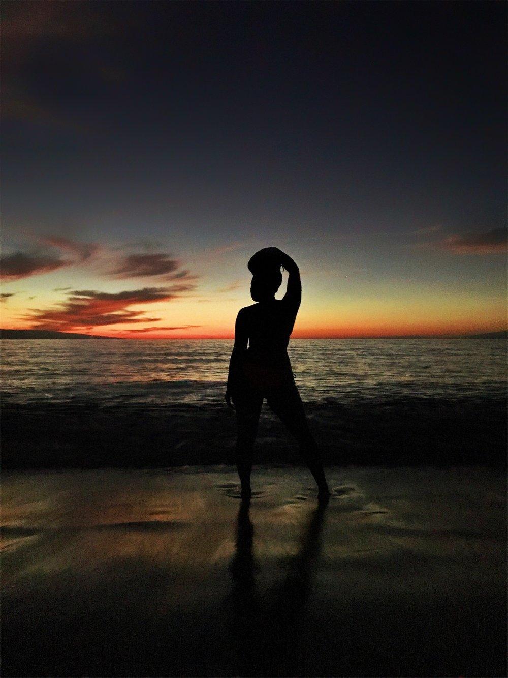 Hawaii-black-woman-silhouette-by-Atlanta-photographer-Chanel-French-16