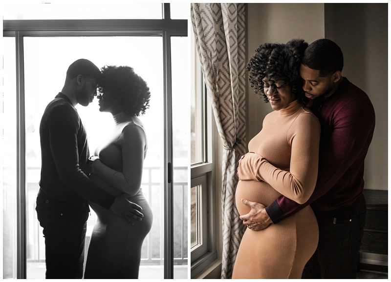 Couples-maternity-session-yellow-pregnancy-dress-by-Atlanta-photographer-Chanel-French