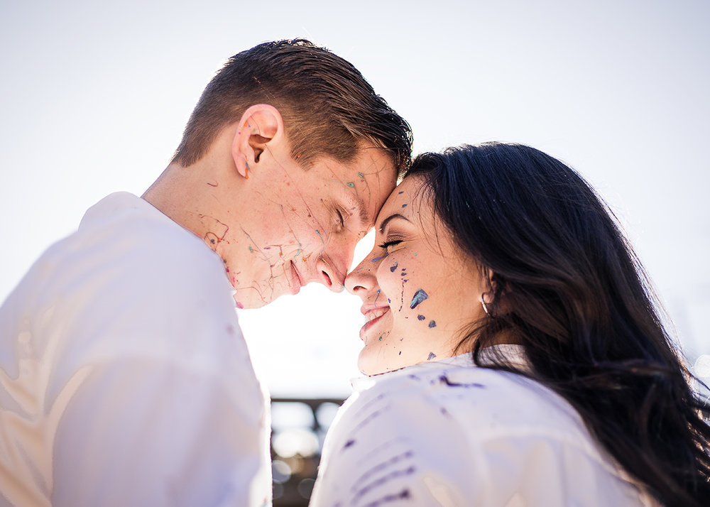 Paint-fight-engagement-session-by-Atlanta-photographer-Chanel-French
