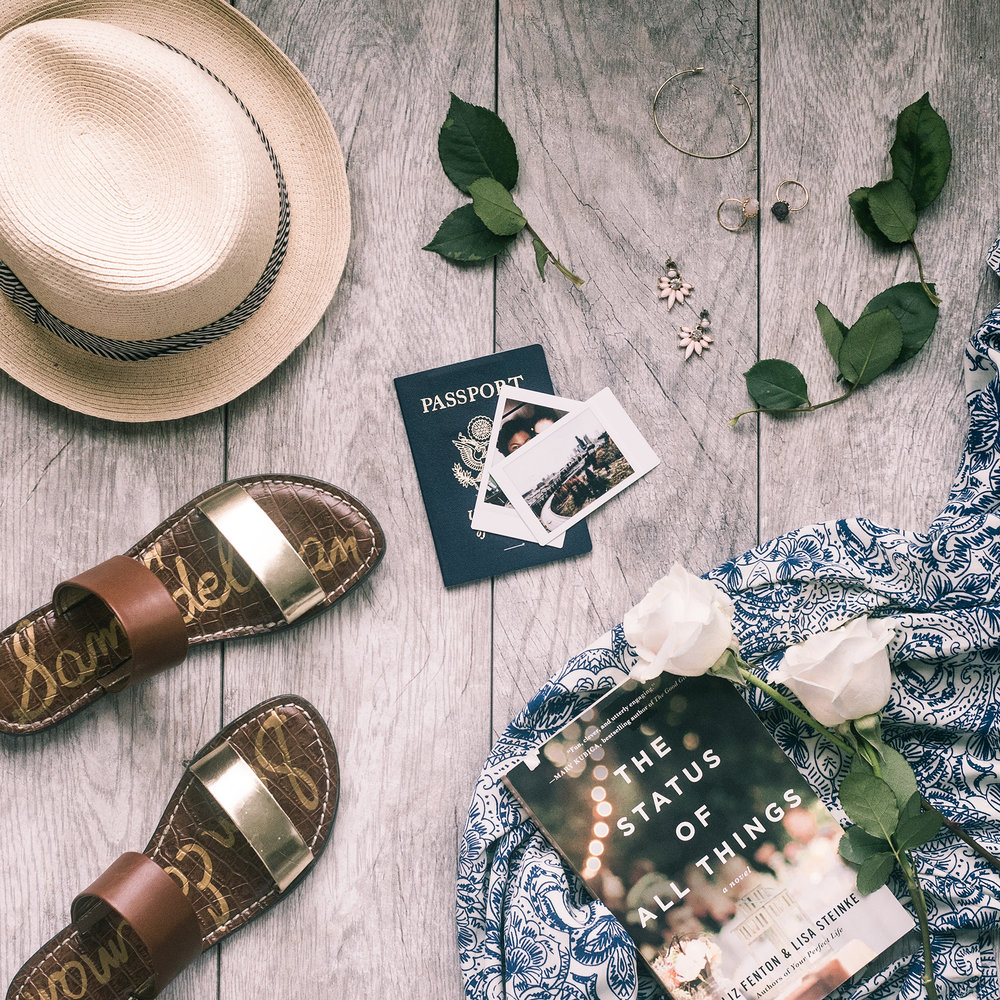 What-to-pack-for-vacation-flatlay-by-Atlanta-photographer-Chanel-French