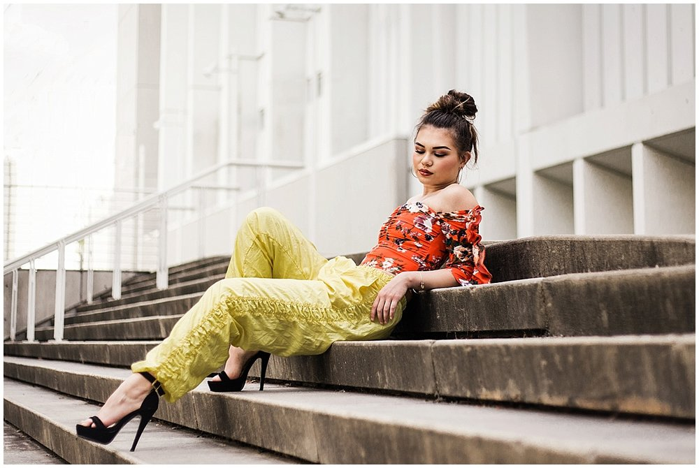 Marietta-fashion-blogger-photographer-at-High-Museum-of-Art-photoshoot-with-Kari-Twyan-in-orange-hm-top