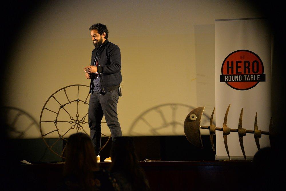 Arjun Bhogal, Hero Round Table