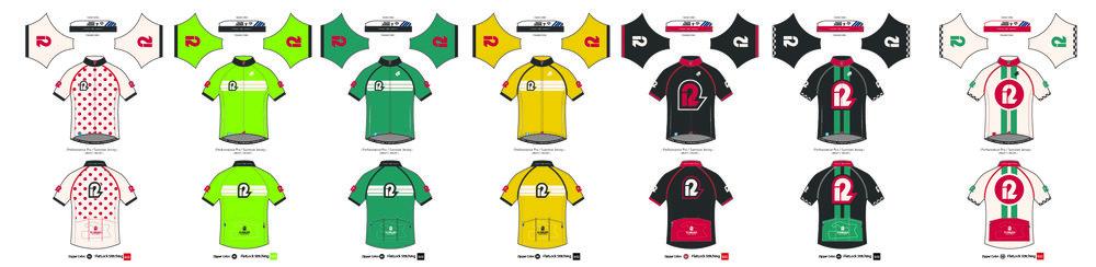 The 12 Hours of Road America suite of cycling kits.