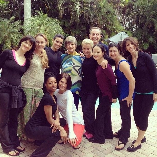 Danielle and her fellow Pilates Master Mentor Program (PMMP) colleagues.
