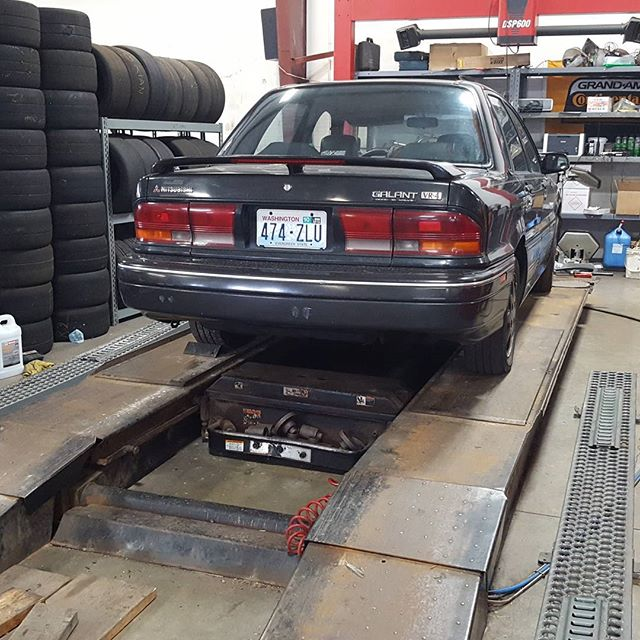 Jack stan went to get an alignment! Annnd it was unalignable 😭 check the blog for more info but it will be on the road soon!  #apebuilt  #likeanape #turbo #mitsubishi #galant #GVR4 #evo  #0 #evo0 #awd #ralliart #alignment #advancedautofabrication #pnw #spokane #cheney #broken