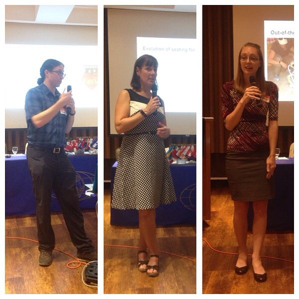 The CHCHI team speaks at the Kiwanis of London about their time in Honduras this past March