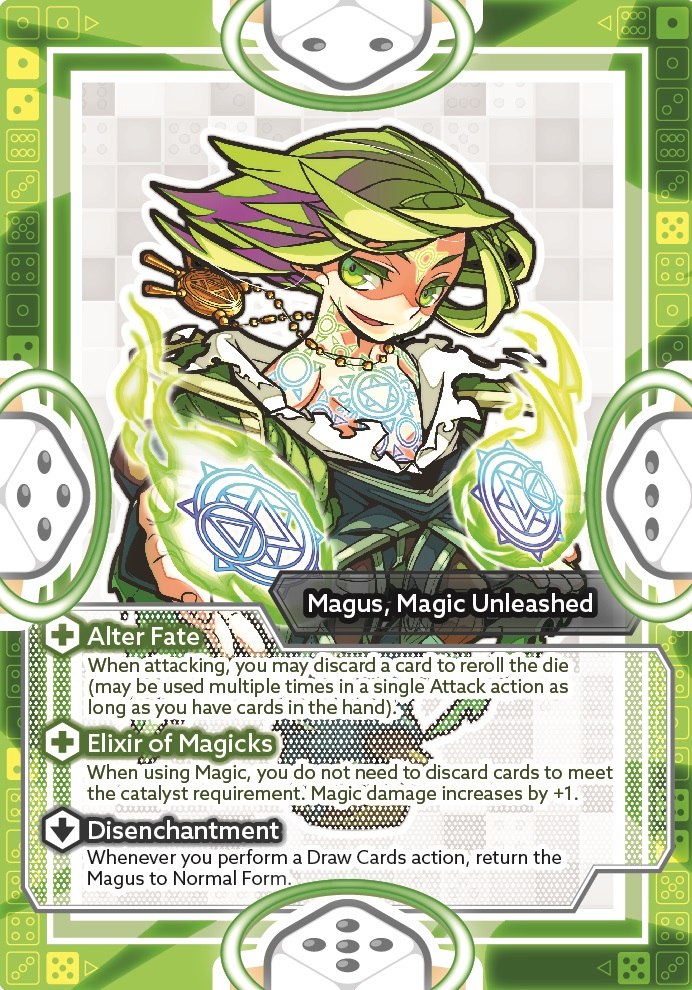 Magus, Magic Unleashed (awakened)