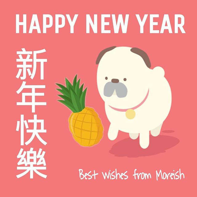 May the Year of the Dog bring you all good health, happiness and lots of pineapple prosperity 🍍