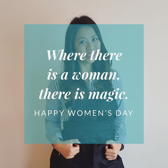 Today we celebrate all the women that make this world that little bit more magical 🙋🏻‍♀️ #happywomensday