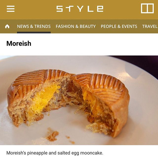 Moreish mooncakes on @style_scmp! 😍