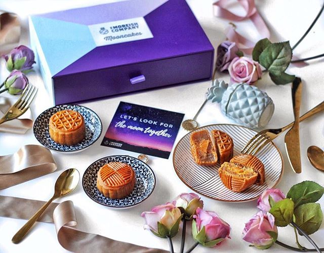 Looking forward to reuniting with loved ones over Moreish Mooncakes!  Each box contains: 3 x pineapple mooncakes with salted egg yolk 3 x lotus mooncakes with salted egg yolk  Click link in bio to order