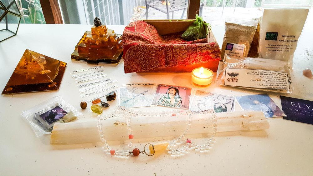 Custom meditation travel box - birthday gift. #fanlove