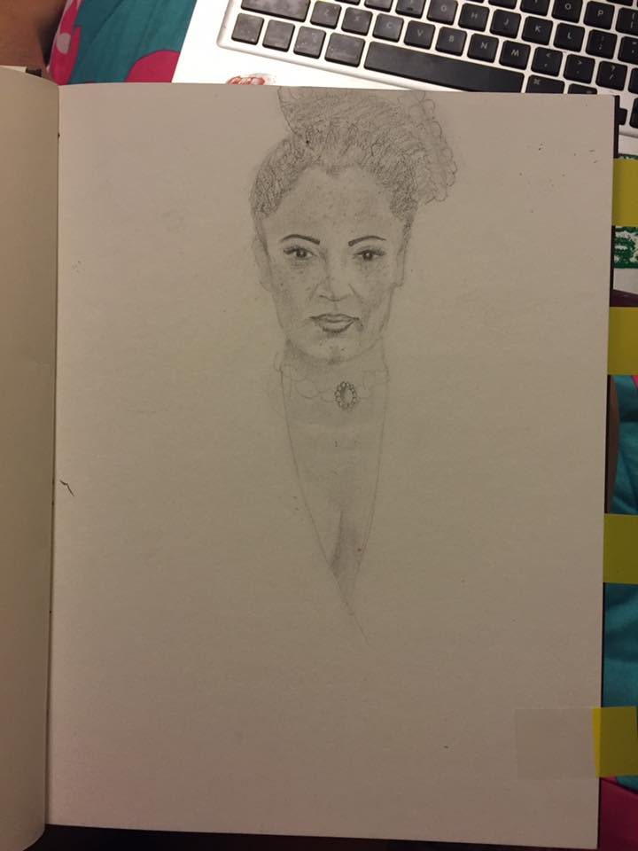 Drawing by Mala Yierba