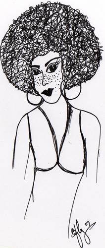 Drawing by Karol BFly Pabon