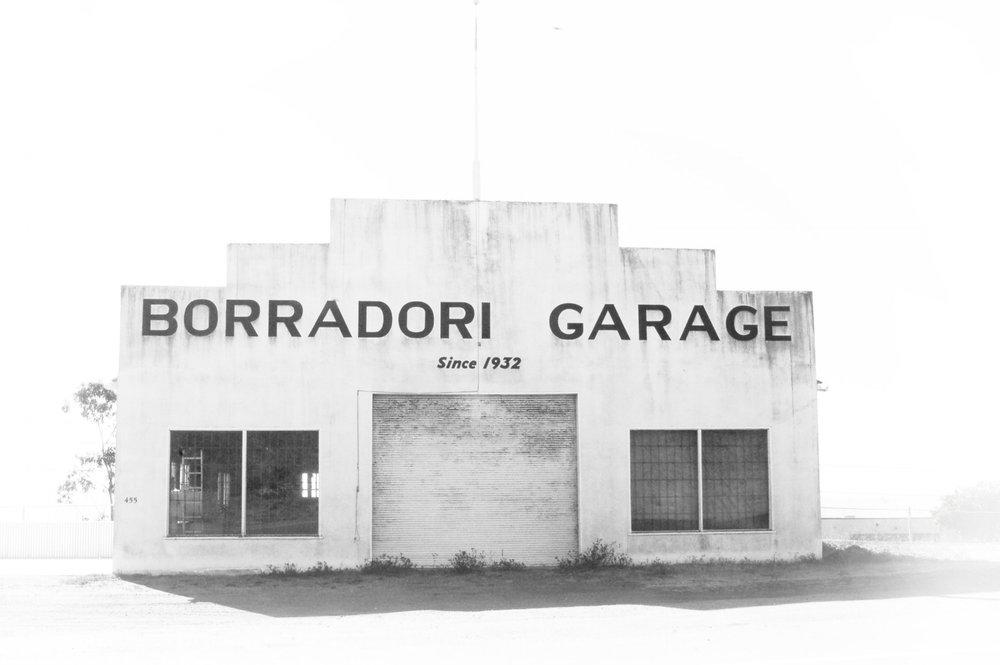 Borradori Garage, Cayucos, CA