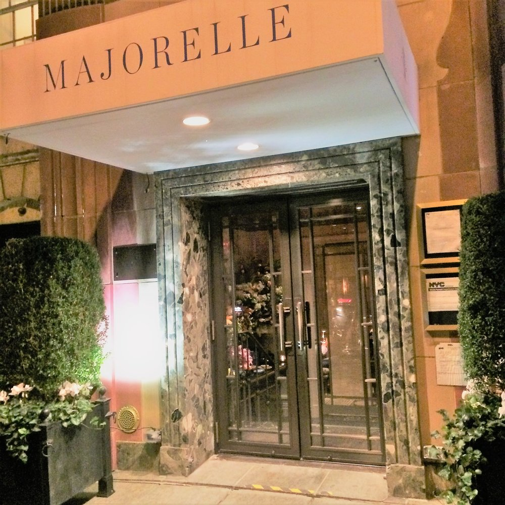 Majorelle on East 63rd Street, between Madison and Park