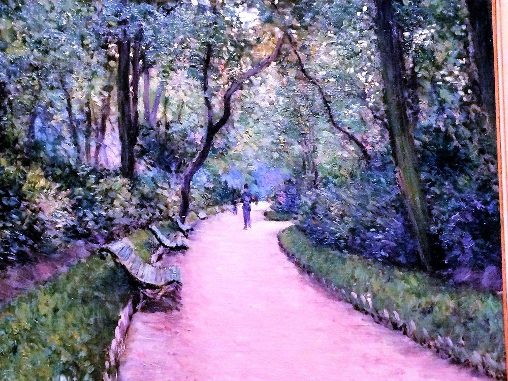 Gustave Caillebotte: The Parc Monceau 1877