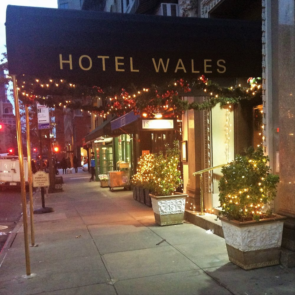 Bright lights, big city, and a small hotel in the neighborhood…