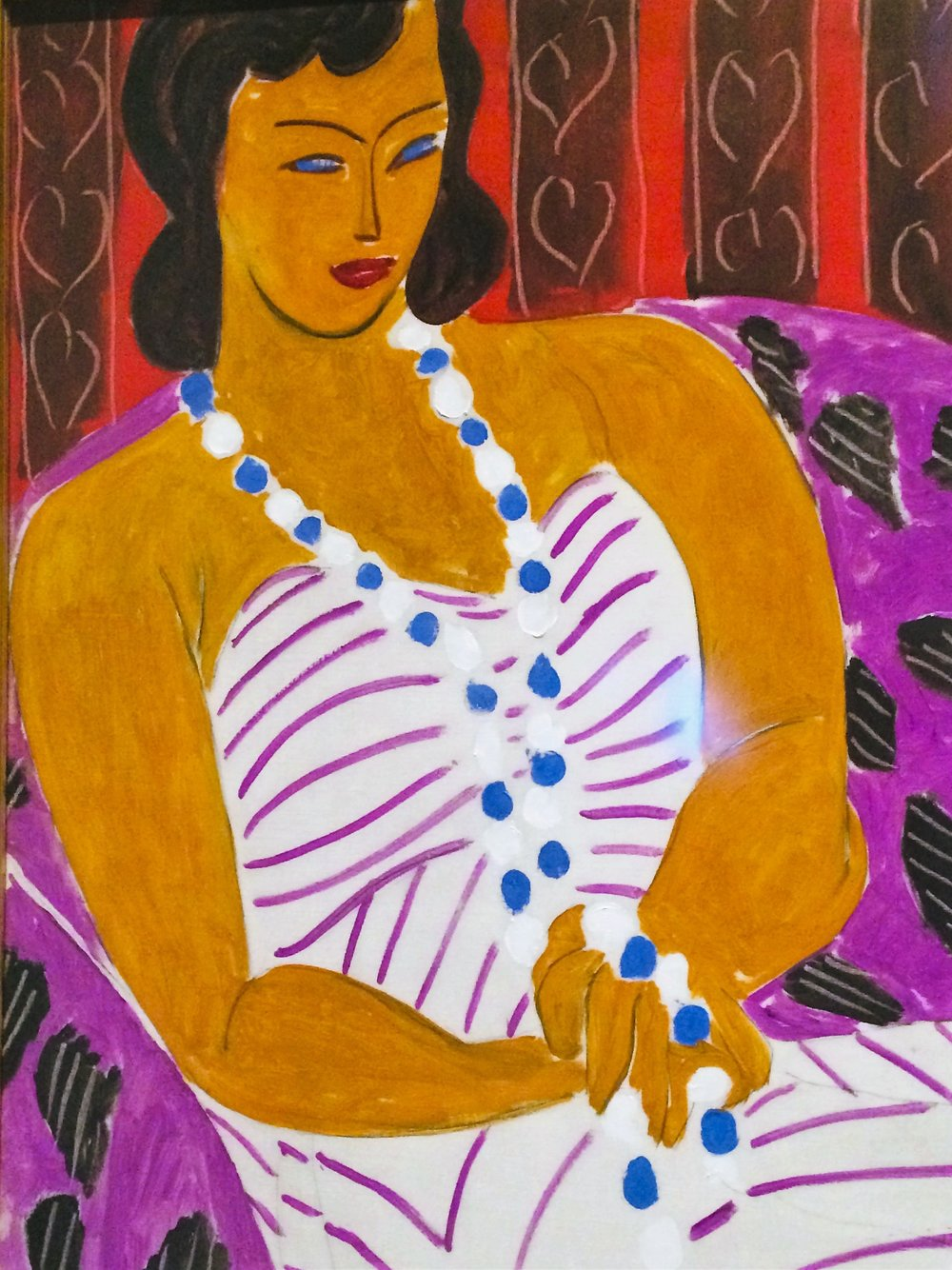 Matisse: Woman in White 1946