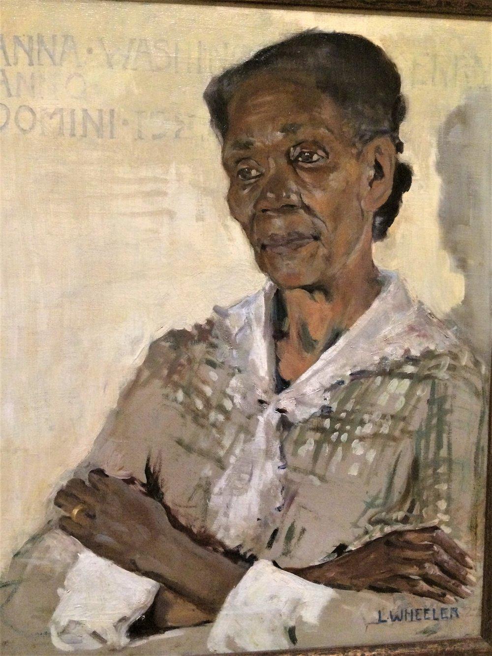 Waring: Anna Washington Derry 1927