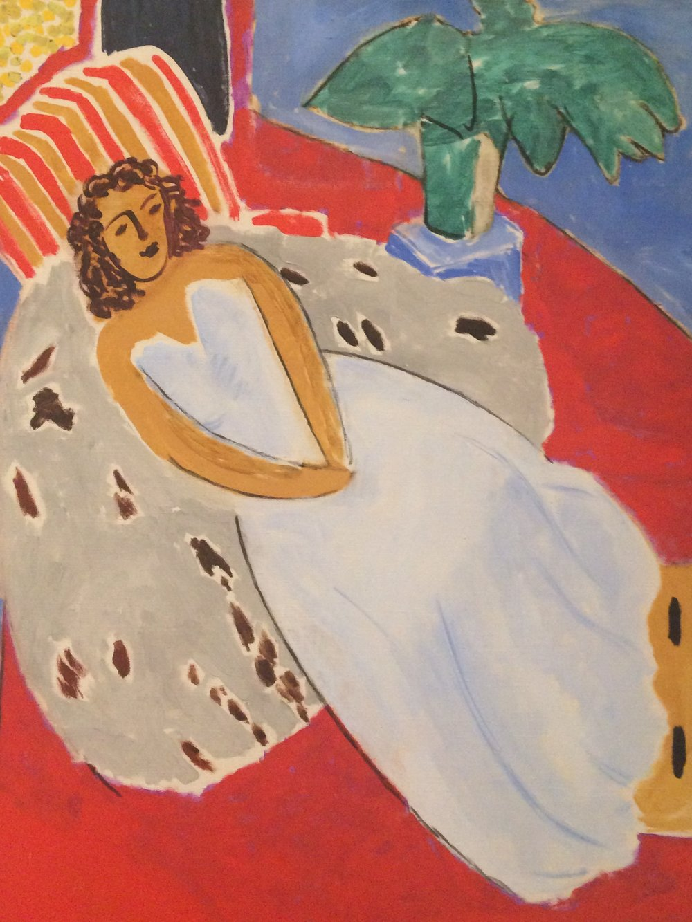 Matisse: Young Woman in White 1946