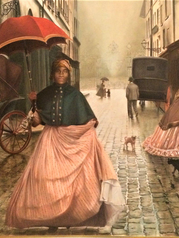 Elizabeth Colomba: Laure ( Portrait of a Negress) 2018