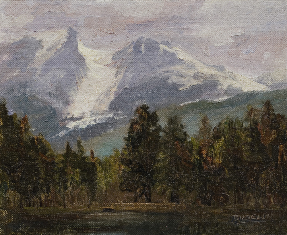 "ESTES PARK, COLORADO  oil on linen | 8"" x 10"""