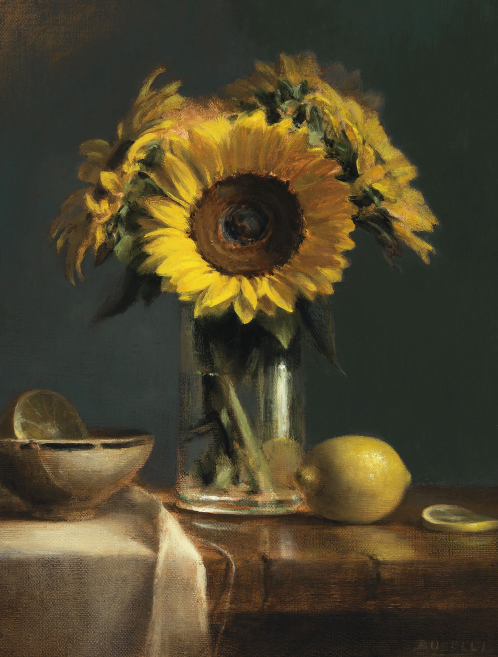 Sunflower with Lemons - AWA Tuscon Image.jpg