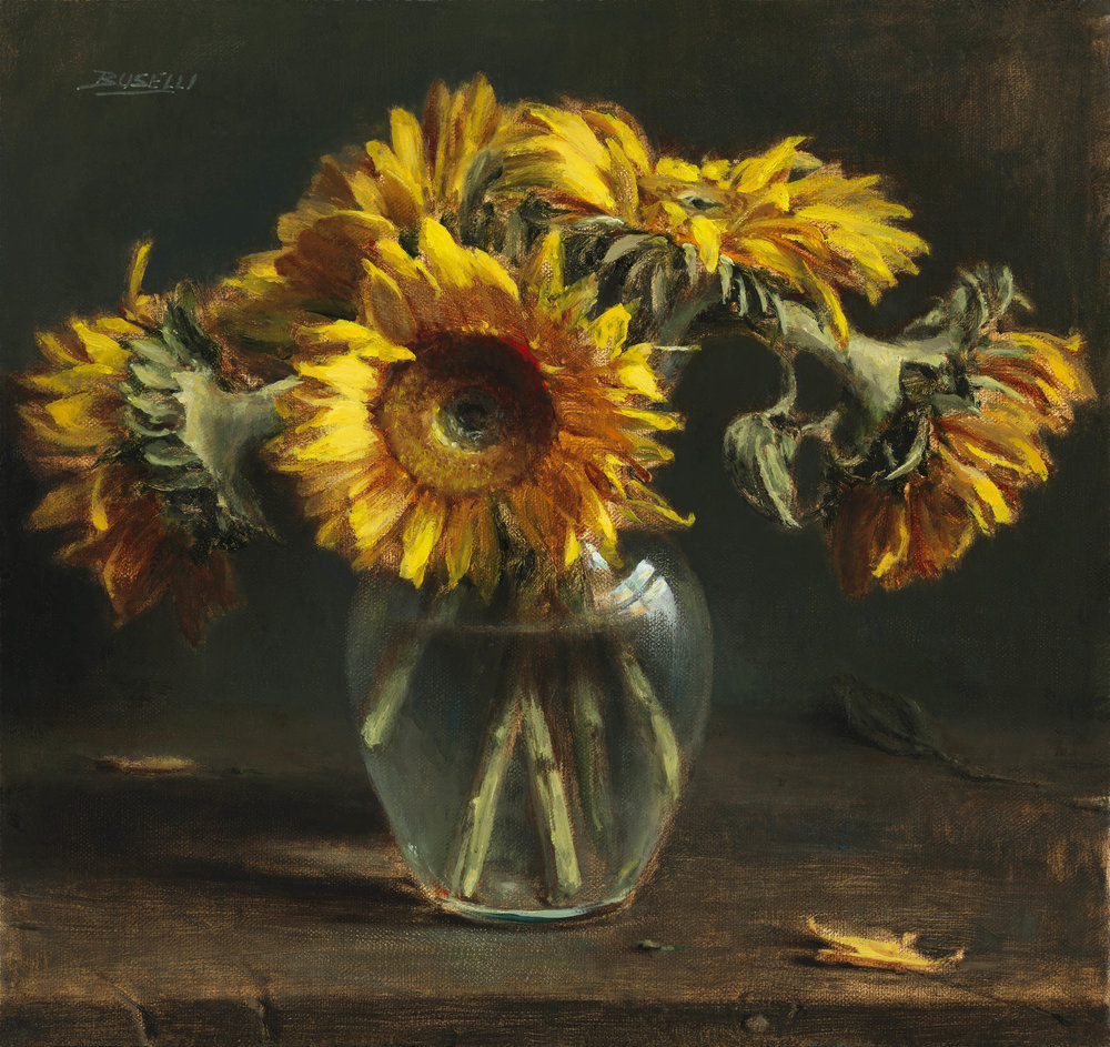 BUSELLI - AUGUST SUNFLOWERS.jpg