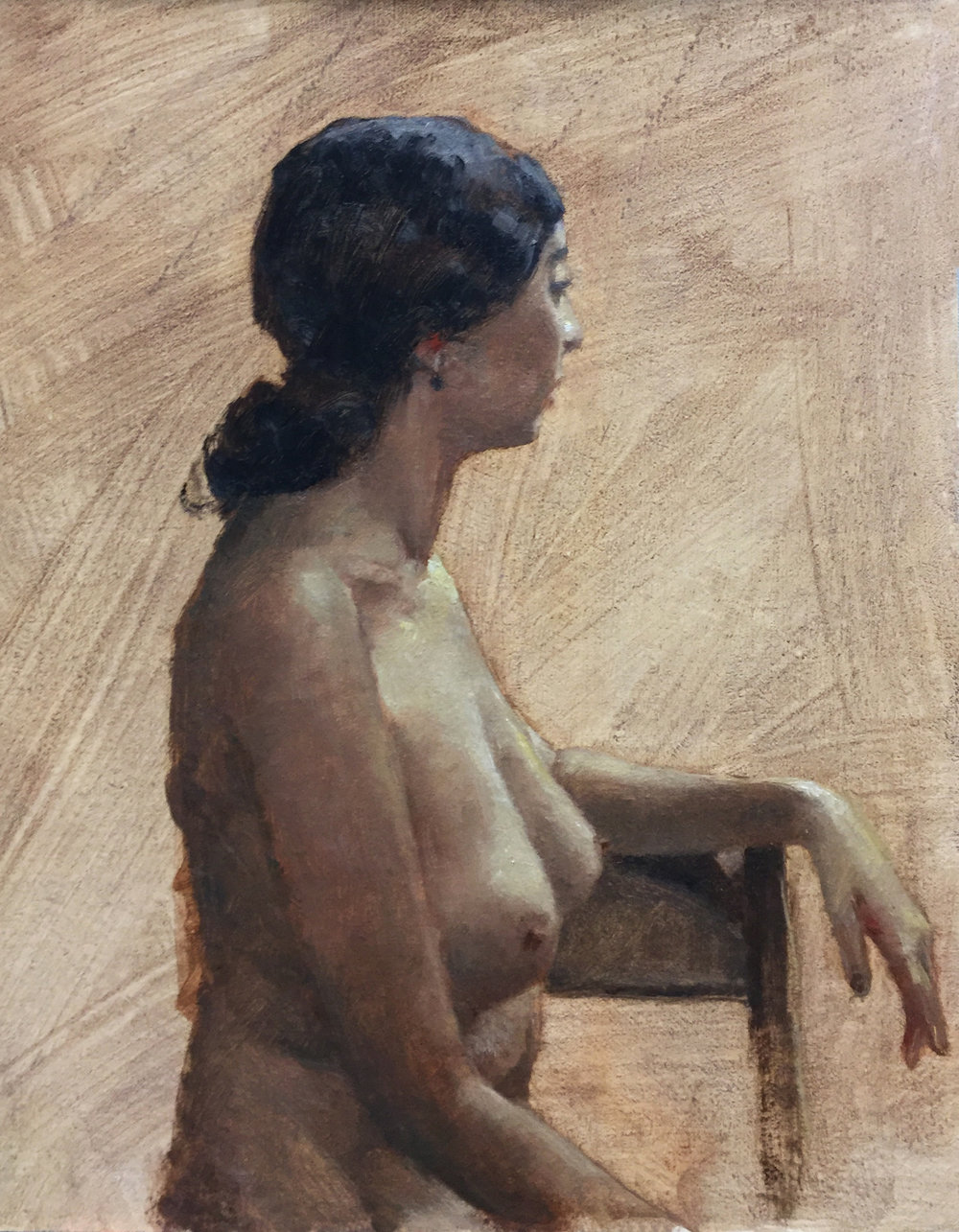 NUDE  oil on linen  |   12 x 10