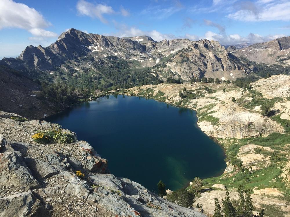 Lake Peak commanding attention beyond Liberty Lake