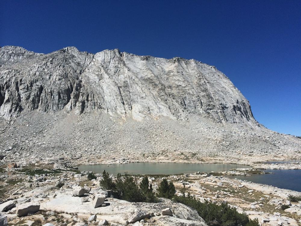 Upper Lake Basin near Cartridge Pass