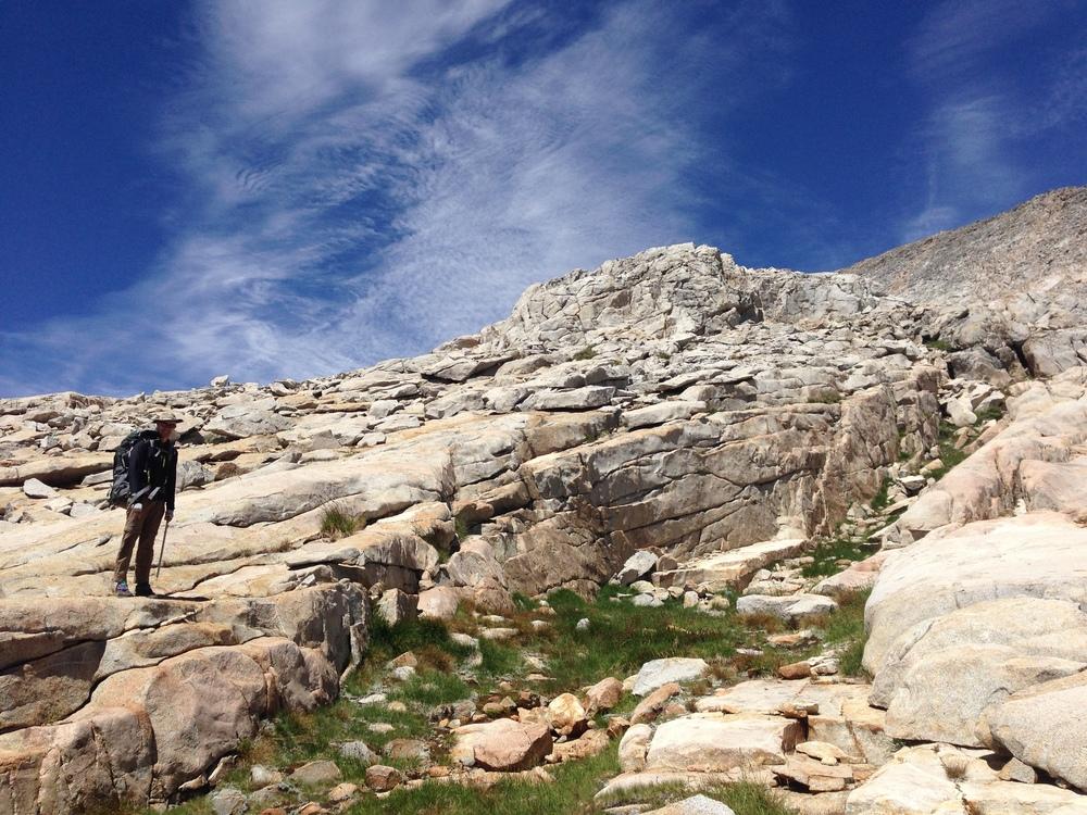 Descent from Explorer Pass