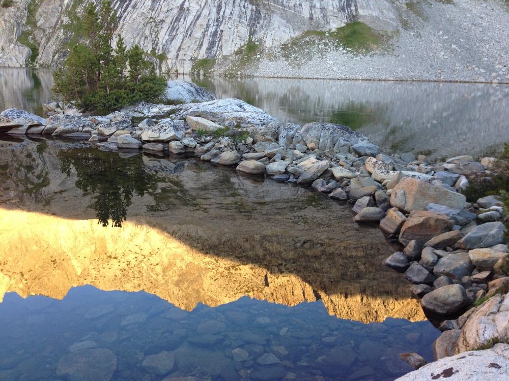 Window Peak Lake Morning reflection