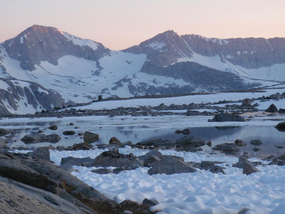 Glacier Divide Alpenglow