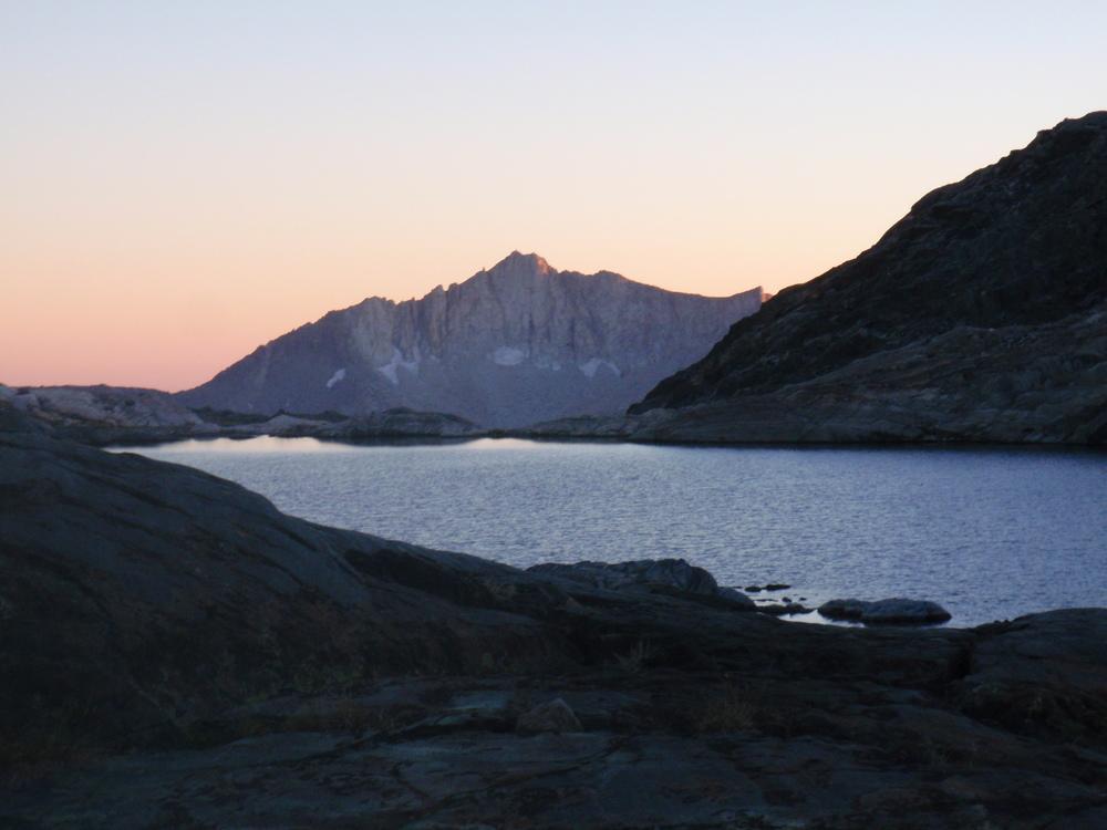 Finger Peak beyond Lake 11818