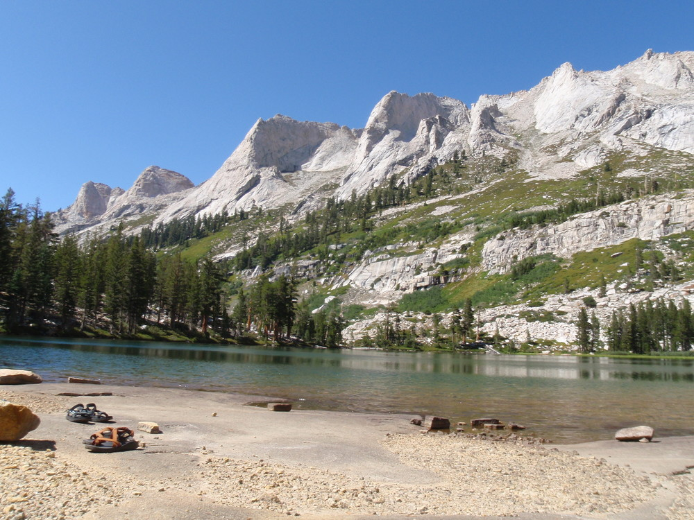 Tamarack Lake swimming beach