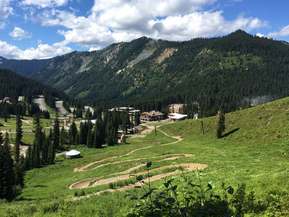 Stevens Pass- summer for PCT hikers and Mtn bikers, winter for skis and boards