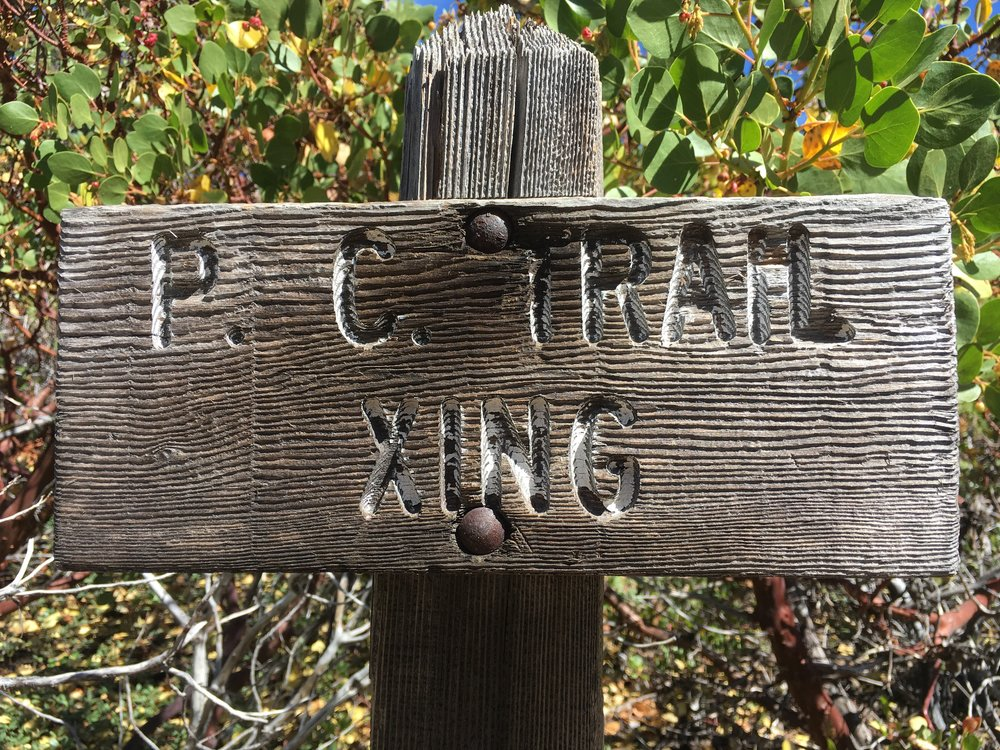 PCT or PC trail? Either way, we are approaching the ½ way point and are excited!