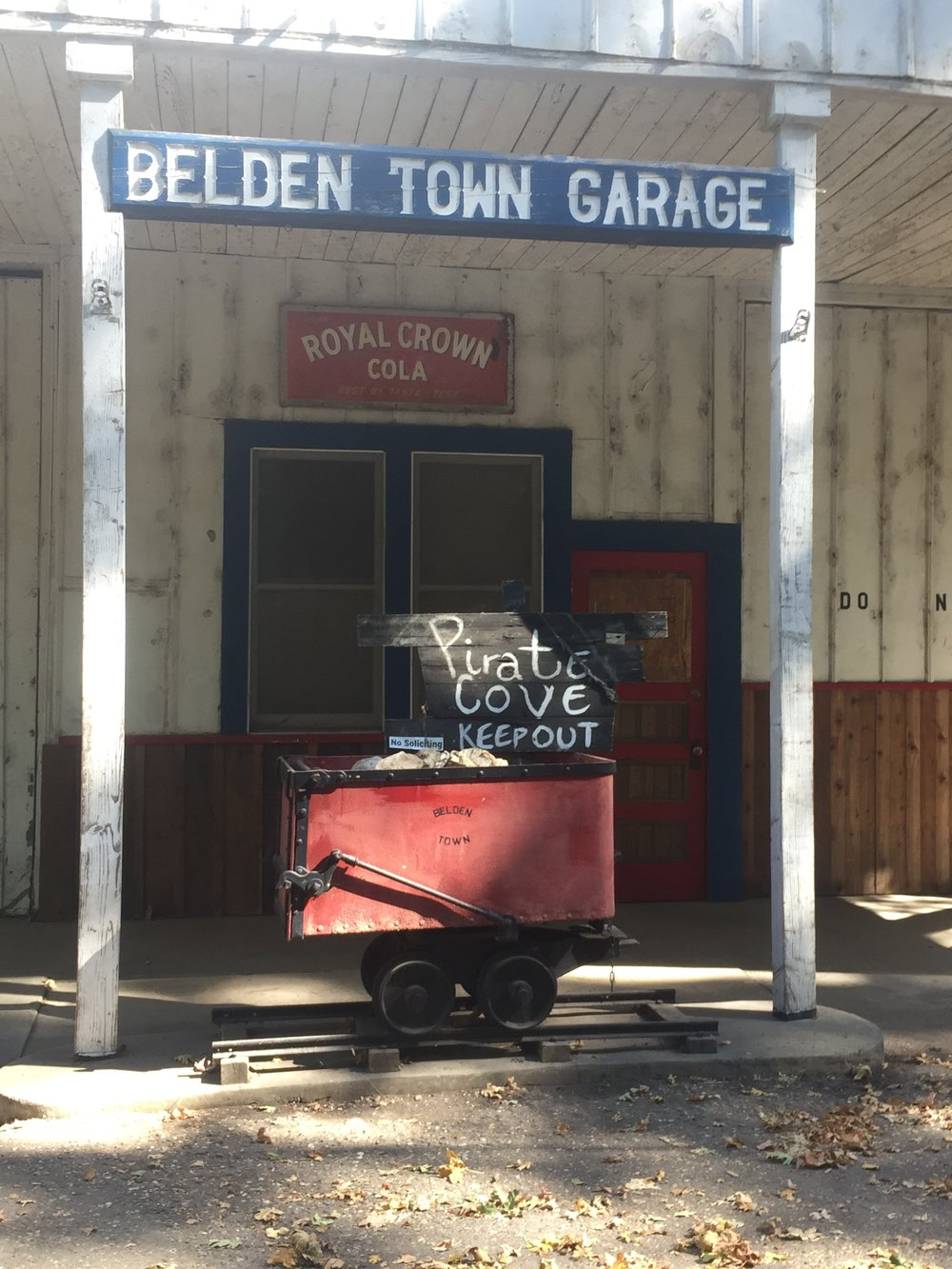 Belden Town, in a nutshell