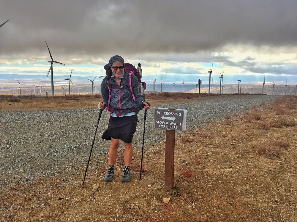 We were touched by how much the management of the Iberdrola Windfarm looked out for hikers.
