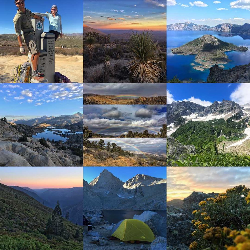 Most popular IG posts of 2016 by @trailhapa - plenty of PCT