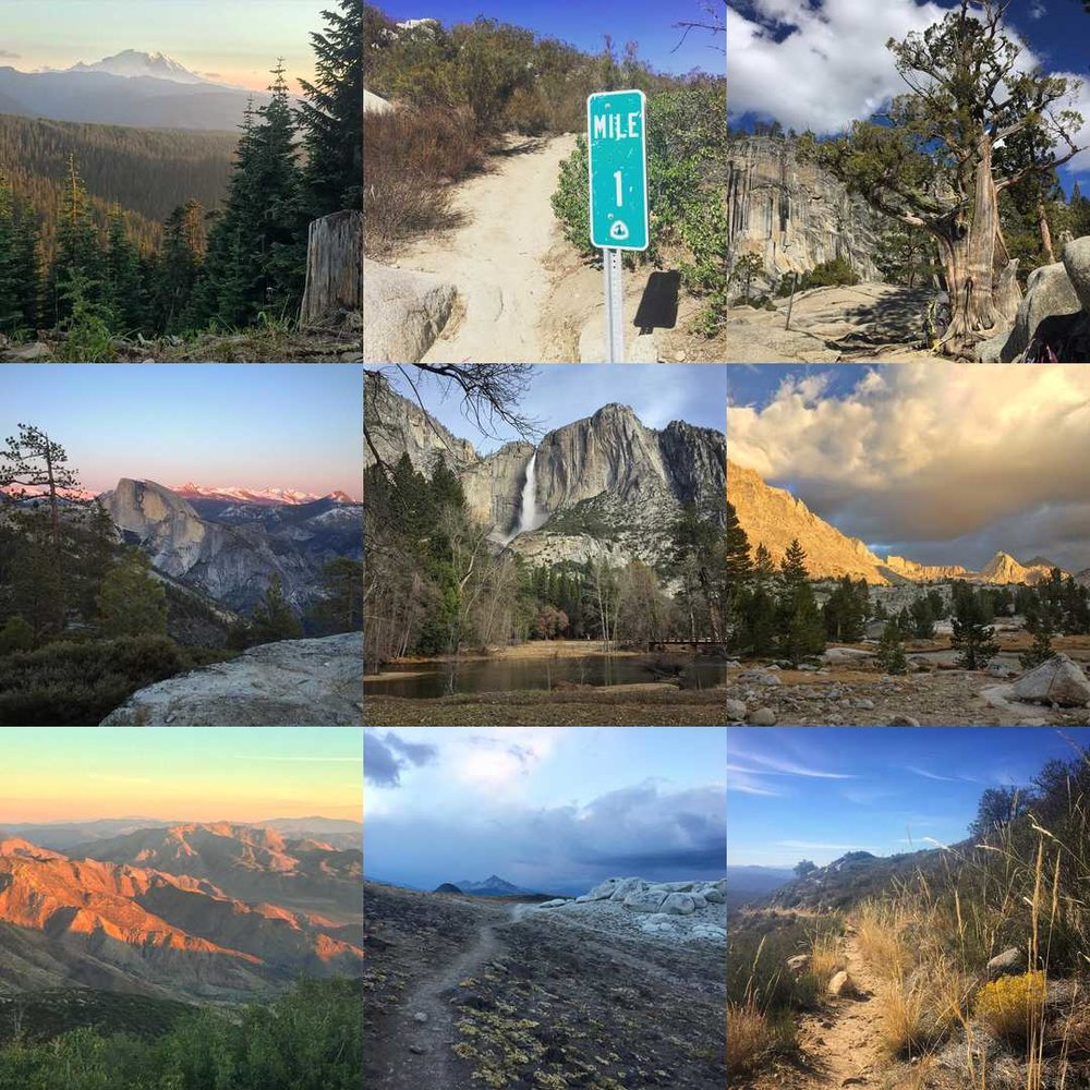 "Likewise, @echerita's ""Best Nine"" is 2/3 PCT thru-hike"