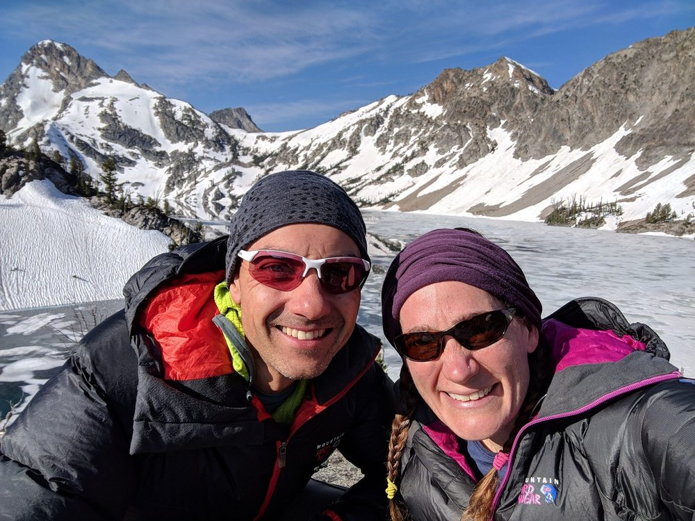 Sawtooth Lake Selfie