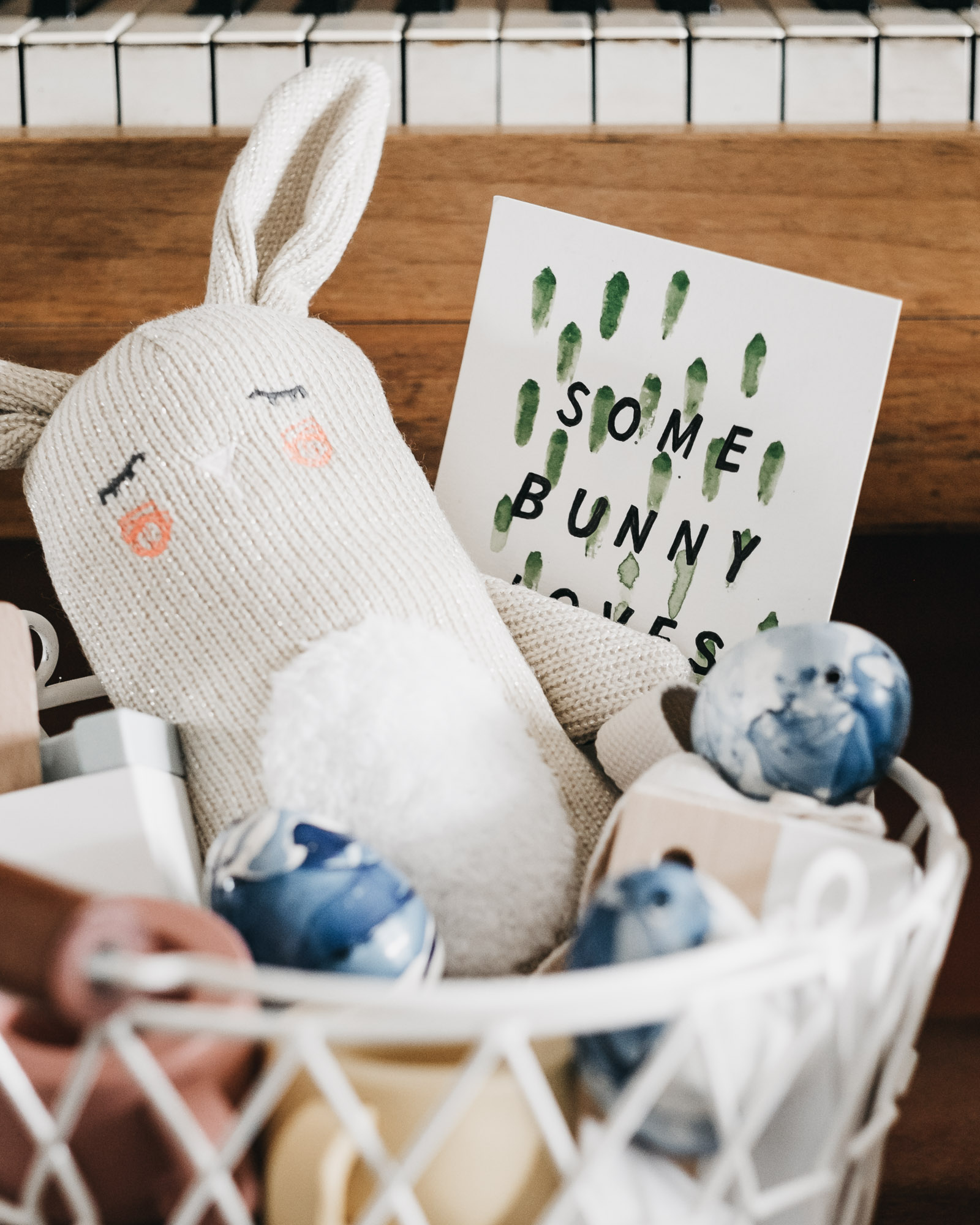 Easter Baskets — David and Leanna