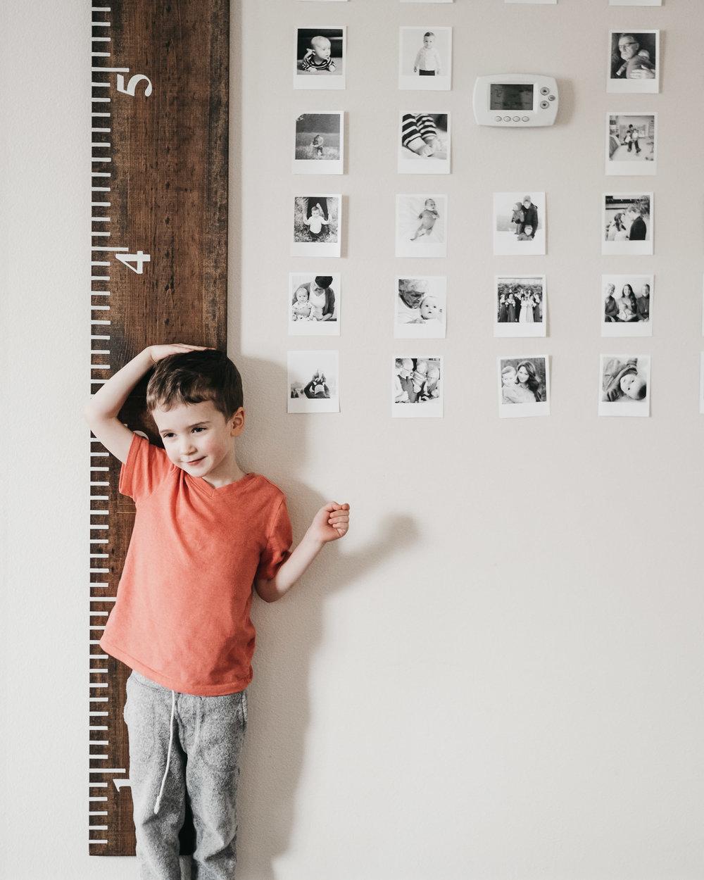 Pottery Barn Living Room Growth Chart Ruler