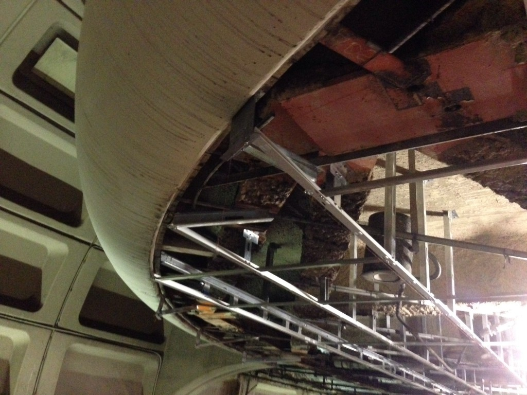 New Dropped Ceiling - Framing at Farragut North