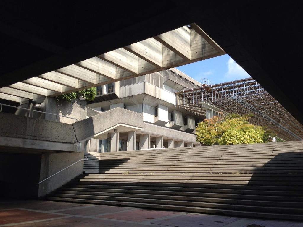 Simon Fraser University - Arthur Erickson